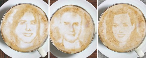 Latte Lookalikes canvas