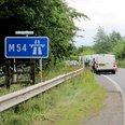 Skull shorpshire motorway