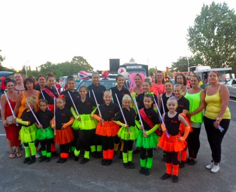 A great amount of colourful floats, exciting acts,