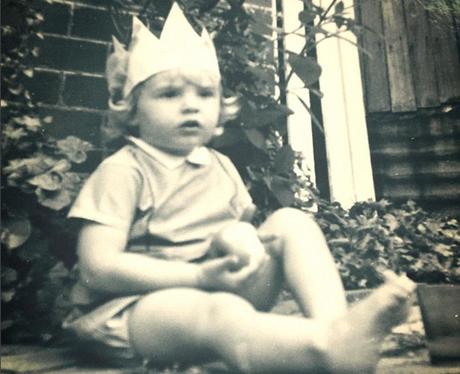 Hugh Jackman as a toddler