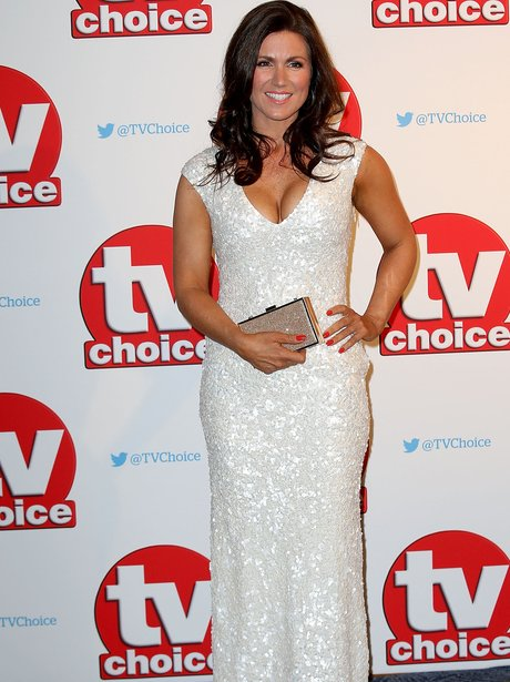 Susannah Reid Tv Choice Awards 2015 Best Dressed Stars Heart