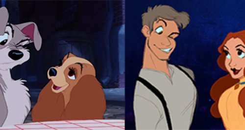 disney animals as humans new