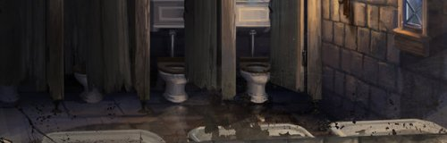 Harry Potter bathroom Hogwarts