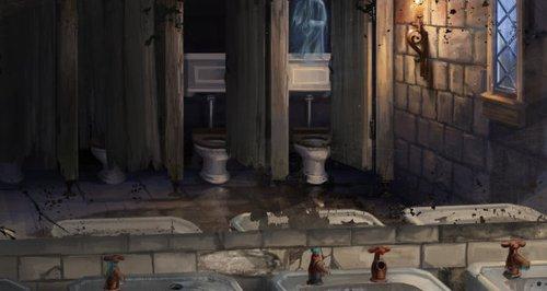 Harry Potter bathroom Hogwarts