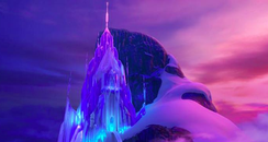 Frozen Elsa Ice Castle