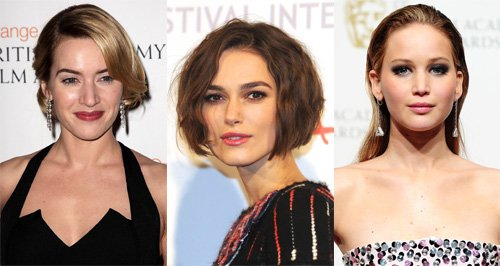 Kate Winslet, Kiera Knightley, Jennifer Lawrence