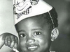Kanye West as a little boy