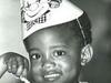 Kanye West as a little boy
