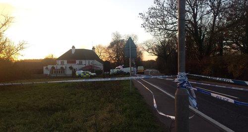 Waltham Abbey murder