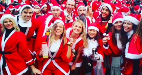 Santa Con Instagram