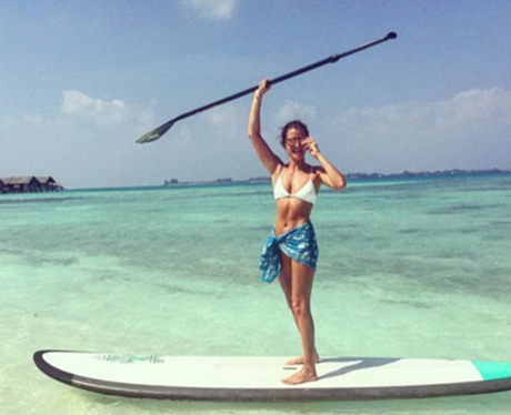 millie mackintosh paddle board instagram