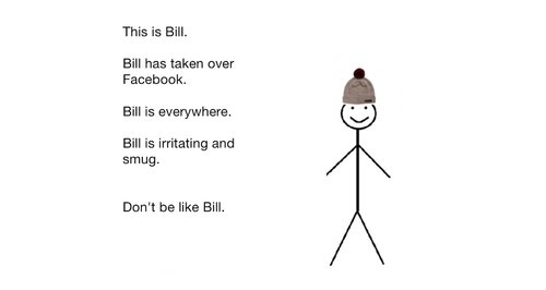 dont be like bill article jr