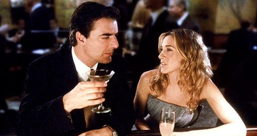 carrie Bradshaw and Big on a date
