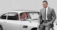 James Corden In Aston Martin