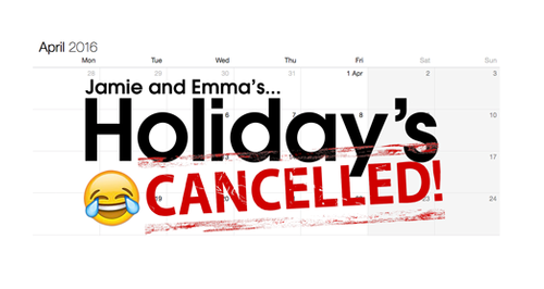 Holiday's Cancelled