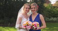 Rebecca Adlington Bridesmaid