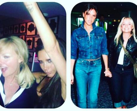 Emma Bunton wishes Victoria Beckham Happy Birthday