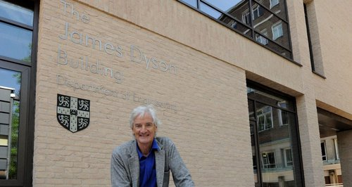 James Dyson at Cambridge Uni
