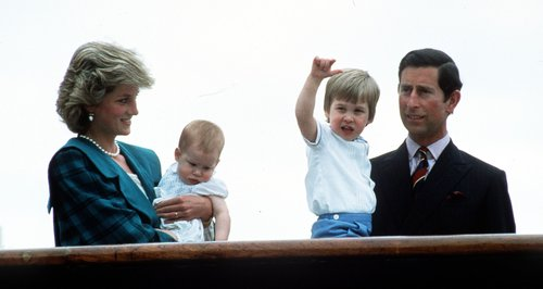 Diana, William, Harry and Charlies
