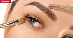 Eyebrows with promoted tab Benefit