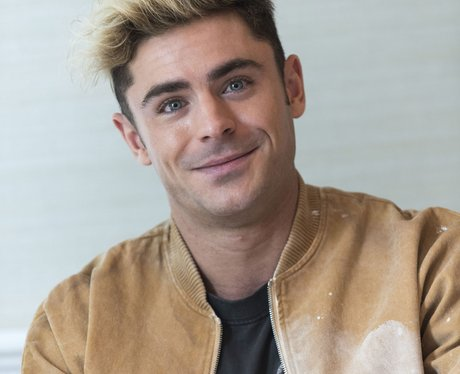 Zac Efron at LA interview