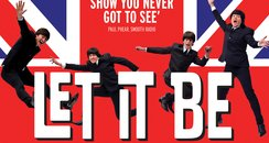 Let It Be Beatles commercial poster