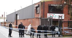 The scene of the Digbeth shooting