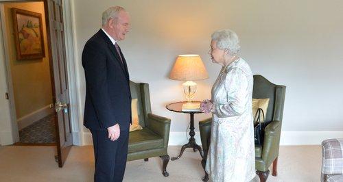 The Queen meets Martin McGuinness