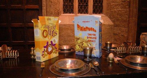 Breakfast at Hogwarts