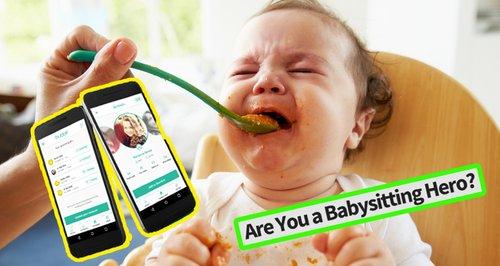Bubble babysitting app