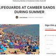 camber lifeguard petition