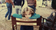 Drew Barrymore as a little girl