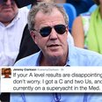 A Level results jeremy Clarkson