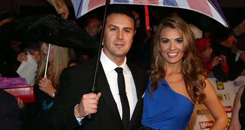 Paddy McGuinness and Christine on the red carpet