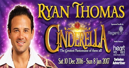 Ryan Thomas Swindon Panto 2