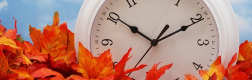 Clocks going back