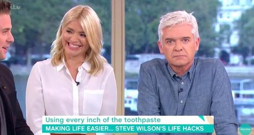 Holly innuendo on This Morning