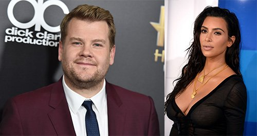 James Corden defends Kim Kardashian