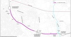 A27 widening Segensworth Titchfield