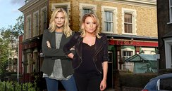 Eastenders Sisters Ronnie And Roxy Mitchell To Mee