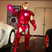 12. Floyd Mayweather dresses up as Iron Man for comic book inspired Halloween costume.