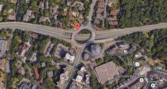 Richmond Hill Roundabout Wessex Way Bournemouth