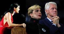 Celebrity Election Reaction Canvas