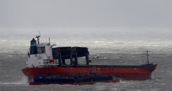 cargo hits barge off dover in storm angus