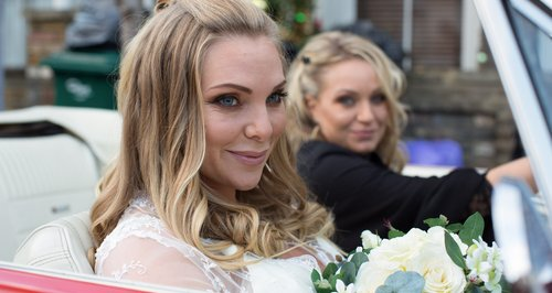 Eastenders Ronnie Mitchell and Roxy Mitchell