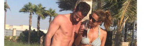 Louise Redknapp And Husband Jamie Show Off Their T