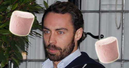 James Middleton marshmellow Boomf canvas