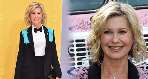 Olivia Newton-John Can See The Silver Lining Of He