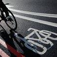 A cycle lane