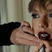20. Taylor Swift gets her glitter lips done for 'I Don't Wanna' video.
